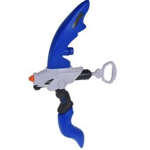 waterpistool boog 56 cm blauw