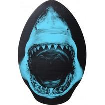 skimboard haai blauw 76 x 50 cm