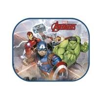 zonnescherm The Avengers 2 stuks 45 x 36 cm + kleurplaat