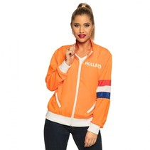 trainingsjasje Holland dames oranje
