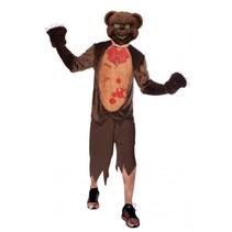 kostuum Teddy Terror heren bruin