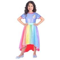 kostuum Barbie Rainbow Cove meisjes 5-7 jaar lila