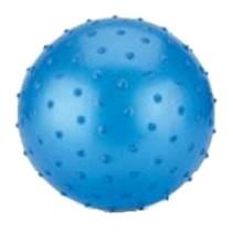 Bal met knobbels 15 cm blauw