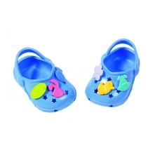 schoenen met grappige pins 43 cm donkerblauw