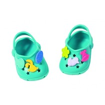 schoenen met grappige pins 43 cm lichtblauw
