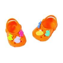 schoenen met grappige pins 43 cm oranje