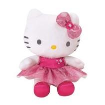 Hello Kitty knuffel Danseres pluche meisjes roze 15 cm