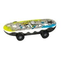 gum skateboard schoen geel/blauw 6 cm