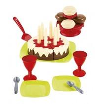 eetset verjaardagstaart
