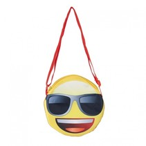 schoudertas Emoji (zonne)bril 1 liter multicolor