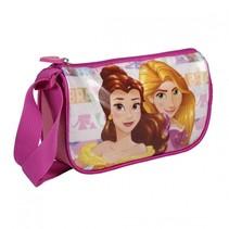 schoudertas Disneyprinsessen 1 liter multicolor Belle & Rapunzel
