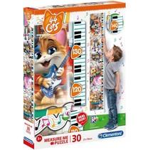 legpuzzel Measure me 44 Cats 30 stukjes