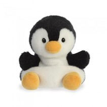 knuffel Palm Pals pinguïn zwart/wit 13 cm
