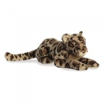 pluchen knuffel jaguar Jira 51 cm junior donkerbruin