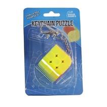 sleutelhangerpuzzel kubus ronde hoek 4 cm
