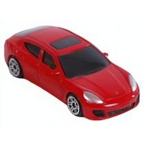 auto diecast 1:64 rood
