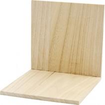 Boekensteun hout 15 cm