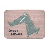 """vloerkleed """"sweet dreams"""" krokodil 100 x 150 cm"""