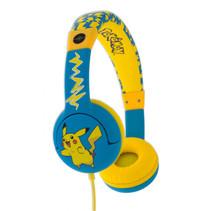 koptelefoon Pokémon Pikachu geel/blauw junior