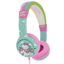 koptelefoon Hello Kitty blauw/roze junior
