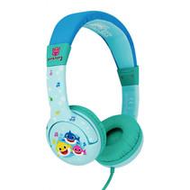 koptelefoon Baby Shark Family blauw junior