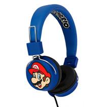 koptelefoon Super Mario blauw junior