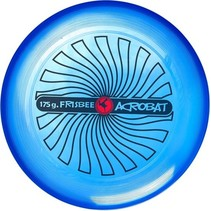 frisbee 27,5 cm blauw