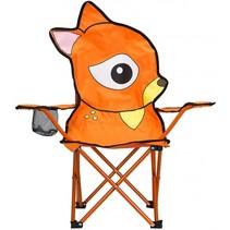 vouwstoel hert junior oranje 60 x 34 x 66 cm