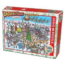 legpuzzel Doodletown 12 Days of Christmas 1000 stukjes