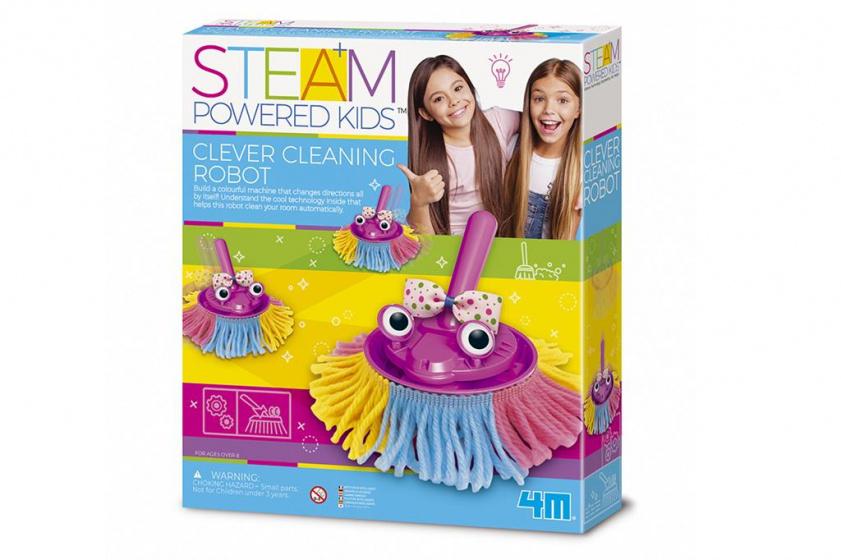 4M schoonmaak robot junior multicolor