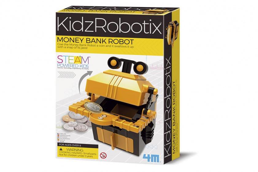 4M geldbank robot junior 14cm