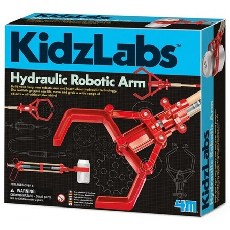 4M KidzLabs hydraulische arm rood 24 cm
