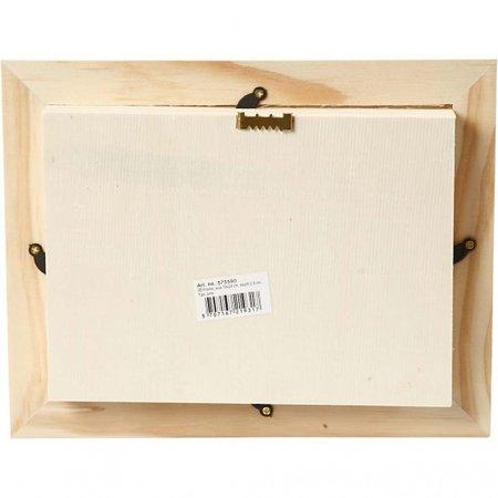 Creative houten fotolijst 3D 18,2 x 23,2 cm