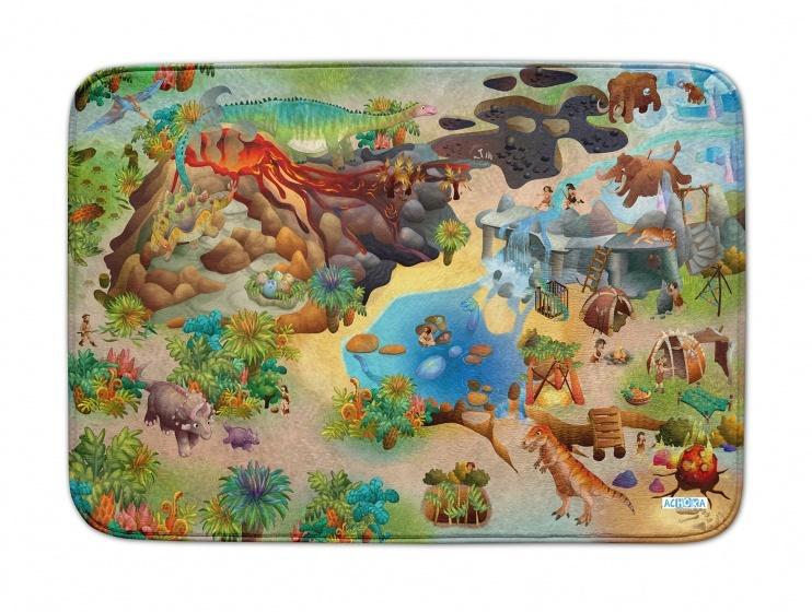 Achoka Speelkleed Dino us Connect 100 x 150 cm