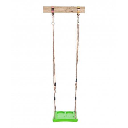 Swing King voetschommel 35 x 35 cm kunststof lime