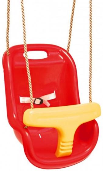 Swing King babyschommelzitje Luxe kunststof 36 x 18 cm rood