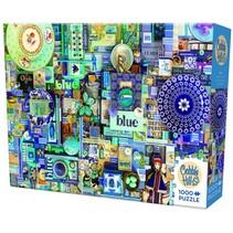 Legpuzzel blauw 1000 stukjes