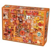 Legpuzzel oranje 1000 stukjes