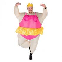 volwassenenkostuum ballerina opblaasbaar one size