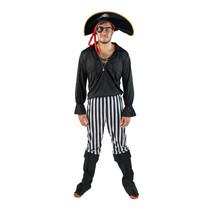 volwassenenkostuum heren piraat multicolor one size