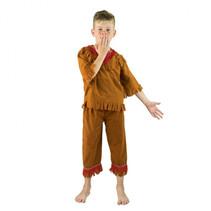 Kids Indian Costume 4-6 bruin