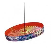 jongleerfrisbee Spin & Fly rood 23 cm