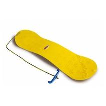 Snow Play snowboard geel junior 72 cm