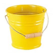 emmer met handvat 1,5 liter geel