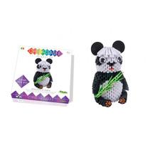 origami 3D set panda 657-delig