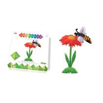 origami 3D set bloem en bij 271-delig