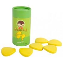 chips uiensmaak hout 9,5 cm groen/geel