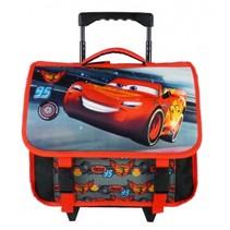 trolley-rugzak Cars Pistoncup 3D 8 liter zwart/rood