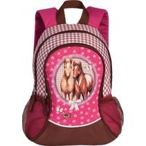 rugzak Horses roze 14 liter