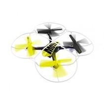 quadrocopter Motion 2,4 GHz geel/zwart 16 cm